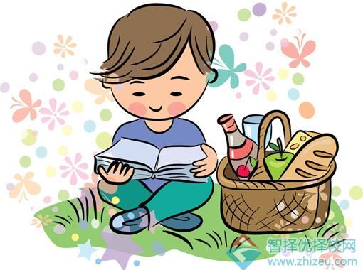小孩上学卡通简笔画-告诉孩子,我们为什么要读书